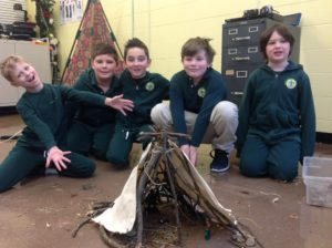 3rd Grade Native American shelter
